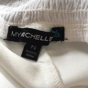 My Michelle Dresses - My Michelle Girls Cute!!! Off the shoulder dress